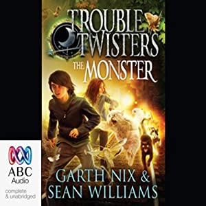 Troubletwisters 2: The Monster Audiobook