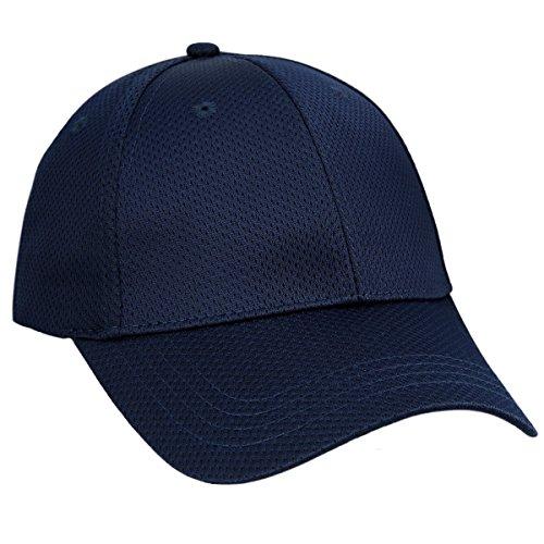 Navy Blue Baseball Hat - moonsix Unisex Baseball Cap,Lightweight Breathable Running Quick Dry Sport Hat,Style 2 Navy Blue