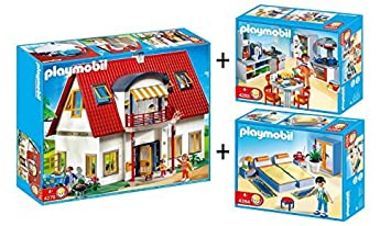 Beautiful cuisine maison moderne playmobil images for Playmobil maison moderne cuisine