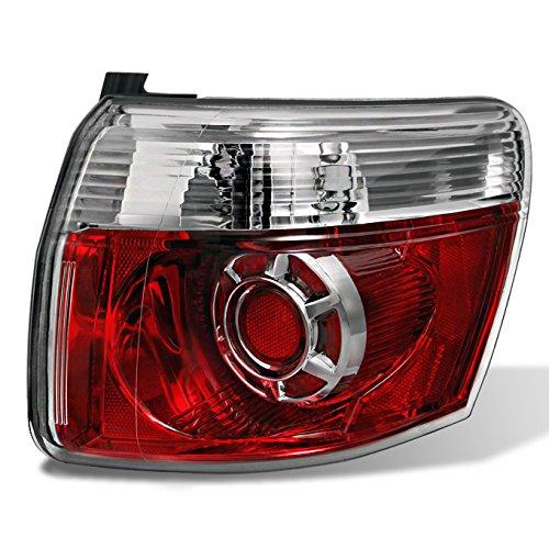 Piece Red Brake Tail Light Tail Brake Lamp Passenger Right Side RH Replacement ()