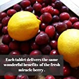 MiralandBerry Miracle Fruit Tablets, Miracle