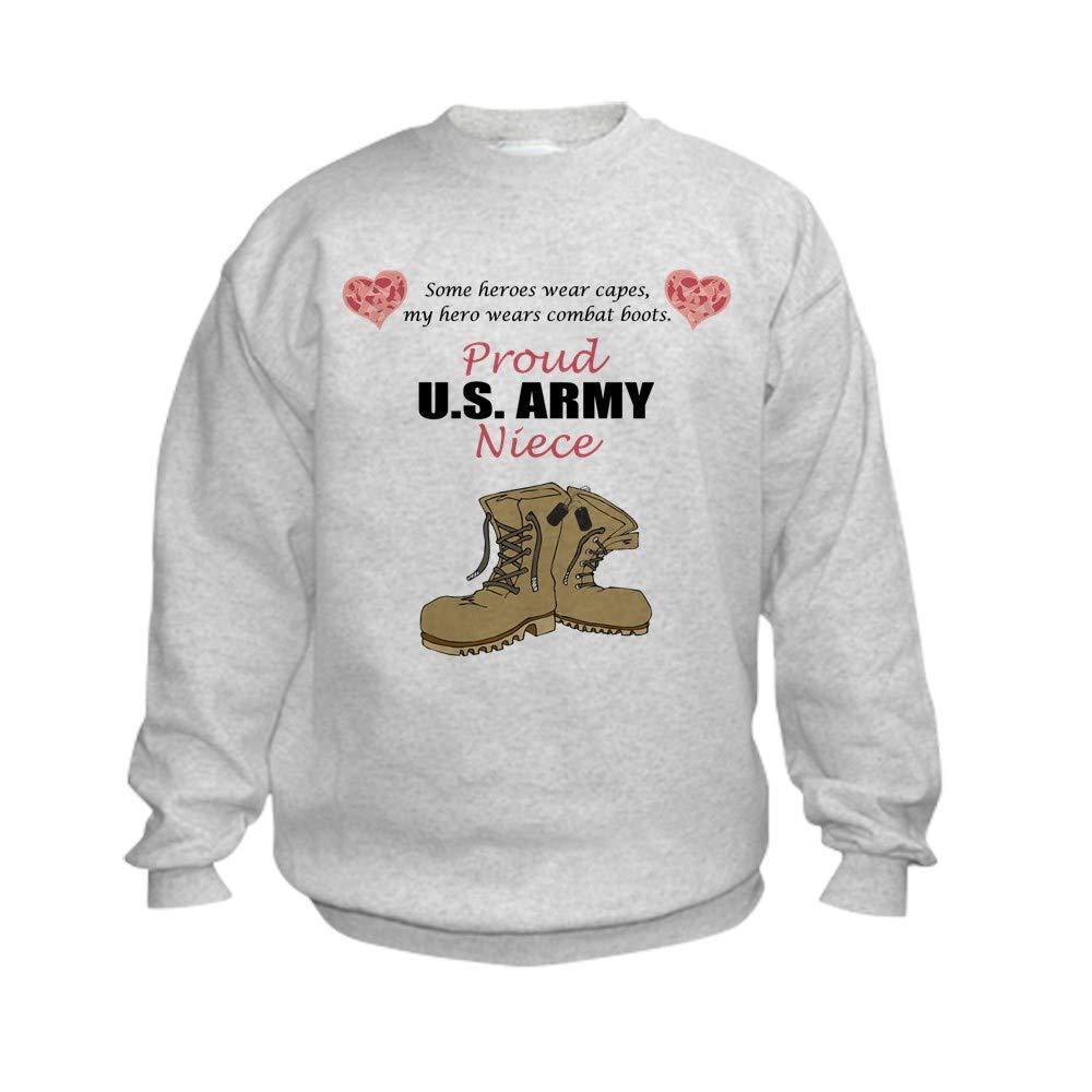 online retailer e7225 34f92 Amazon.com: CafePress Proud US Army Niece Kid Sweatshirt ...