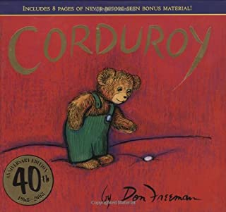 Book Cover: Corduroy (40th Anniversary Edition)