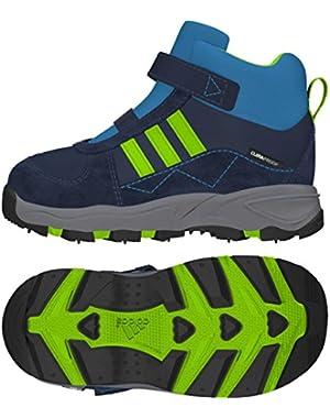 M20037 Infant Rich Blue/Semi Solar Green/Solar Blue Powderplay Mid Cf Cp I Boot, 2K