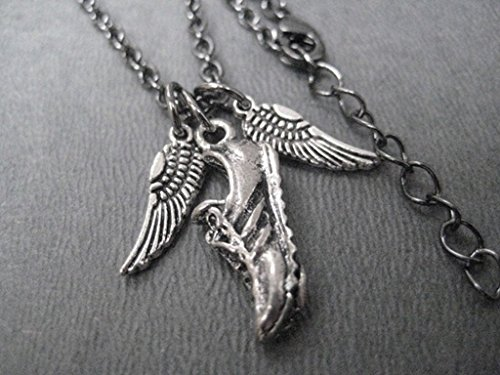 Running Shoe With Wings Charm