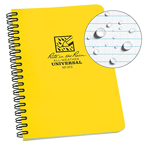 Rite in the Rain All-Weather Side-Spiral Notebook, 4 5/8