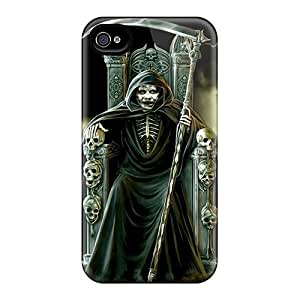 For CarlHarris Iphone Protective Cases, High Quality For Iphone 4/4s Reaper Exorcist Skin Cases Covers