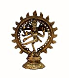 Stonkraft Brass Natraj Statue Idol Sculpture Shiva - Nataraj The Lord Of Dance Natrajan