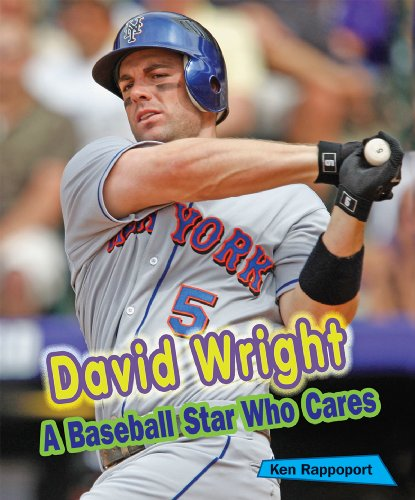 David Wright: A Baseball Star Who Cares (Sports Stars Who Care)