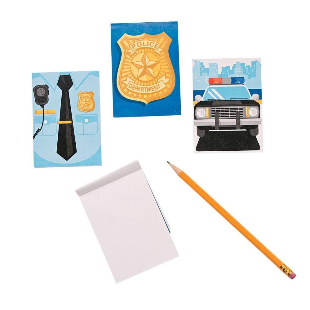 Paper Police Party Notepads Toy Party Supplies SG/_B01BMO3824/_US