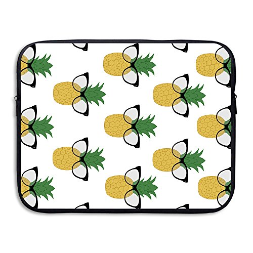 Business Briefcase Sleeve Sunglasses Pineapple Pattern Laptop Sleeve Case Cover Handbag For 15 Inch Macbook Pro / Macbook Air / Asus / Dell / Lenovo / Hp / Samsung / - India Sunglasses Ebay