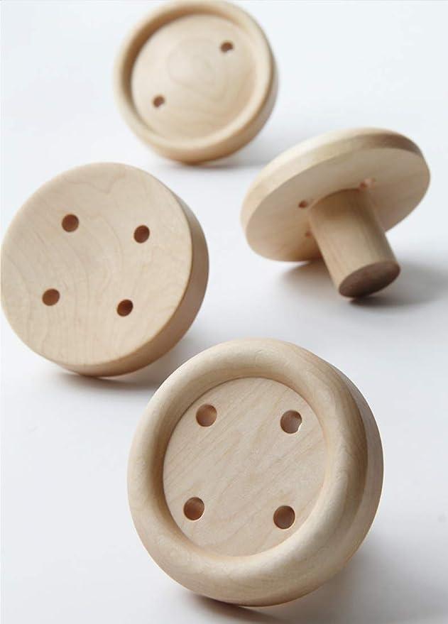 Amazon.com: Perchero de madera natural multifuncional con ...