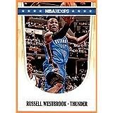 2011-12 Hoops #175 Russell Westbrook OKC OKLAHOMA CITY THUNDER