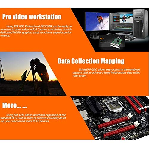 EXP GDCV8.0 Adapter, Professional V8.0 EXP GDC Beast Laptop External Independent Video Card Dock Mini PCI-E Graphics Card for Notebook