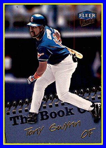 - 1999 Ultra The Book On #13 Tony Gwynn RIP HOF SAN DIEGO PADRES