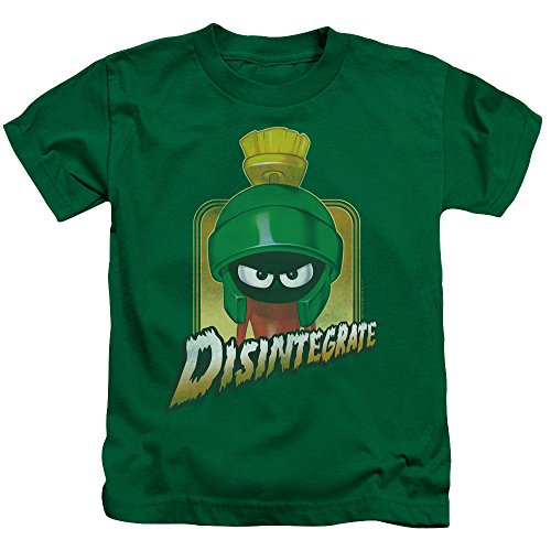 Looney T-shirt Tunes Youth - DressCode Looney Tunes - Youth Disintegrate T-Shirt, Size: Medium (5/6), Color: Kelly Green