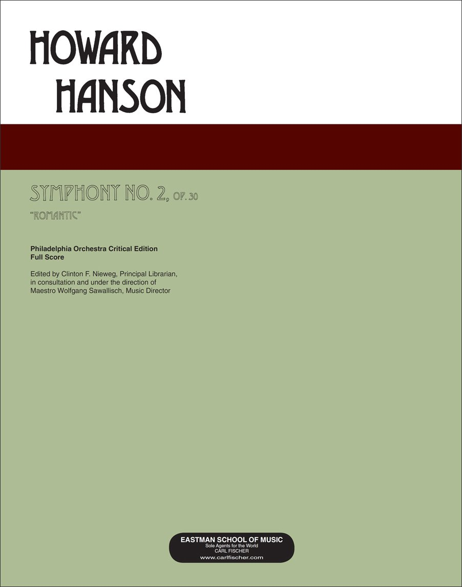 "Download Symphony No. 2, Op. 30, ""Romantic- Large Score (11x14) pdf epub"