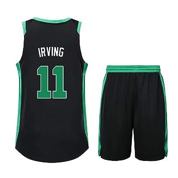 Chándal de Baloncesto Kyrie Irving No. 11 de Boston Celtics con ...