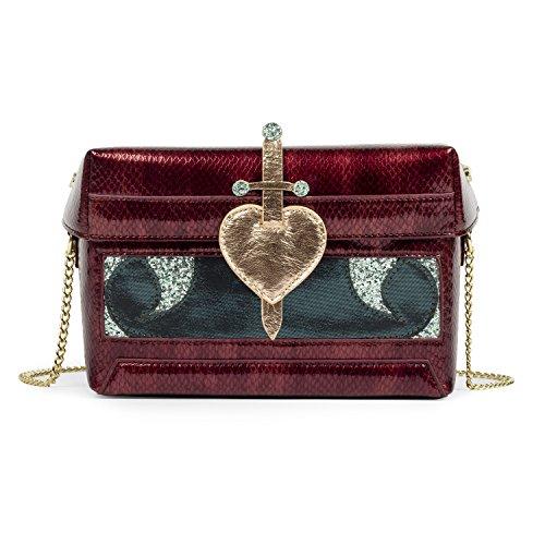 Danielle Nicole Disney Snow White Heart Box Crossbody Bag for Women
