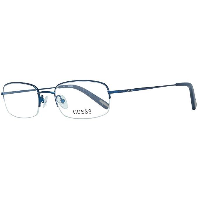 prezzi economici migliore vendita qualità superiore Guess Brille Gu1808 B24 50 Montature, Blu (Blau), 50.0 Uomo ...
