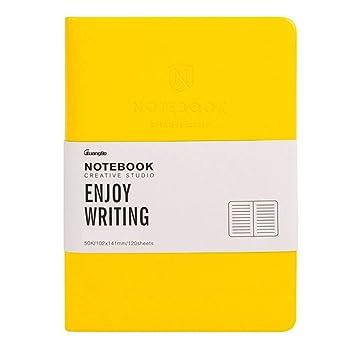 GQQ Cuaderno Rayas/Lined Notebook , Agenda Bloc Cuaderno ...