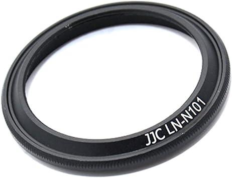 JJC LN-N101 Metal Lens Hood As Nikon 1 HN-N101 Cap Fits HC-N101 For Nikkor 10mm f//2.8