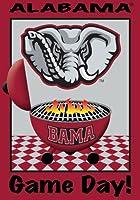 University of Alabama - Game Day - Garden Size 12 Inch X 18 Inch Decorative Flag/Banner