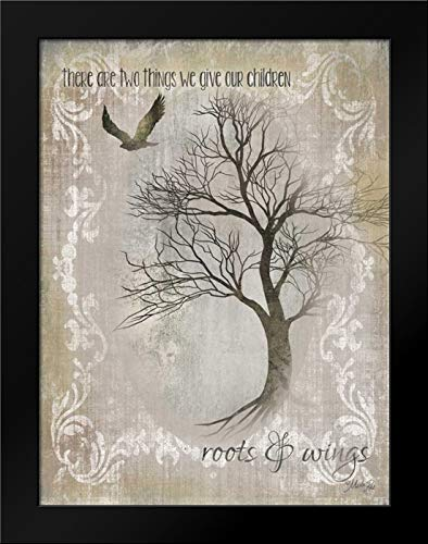 Roots and Wings Framed Art Print by Rae, - Framed Roots