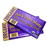 Trader Joe's Organic 73% Cacao Super Dark Chocolate Bar, 3.5 oz (Pack of 2)