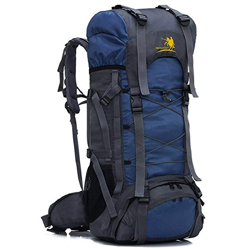 Z ZTDM 55L Internal Frame Backpack Hiking Backpacking Packs Large Capacity for Outdoor Hiking Travel Climbing Camping Mountaineering