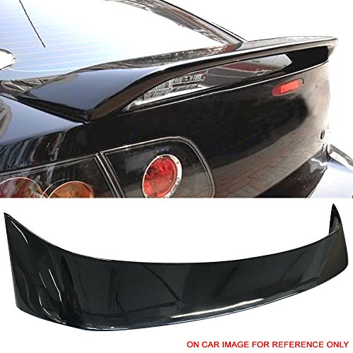 - Pre-Painted Trunk Spoiler Fits 2004-2009 Mazda 3 | Factory Style Painted #16W Black Mica ABS Trunk Boot Lip Spoiler Wing Deck Lid Other Color Available By IKON MOTORSPORTS | 2005 2006 2007 2008