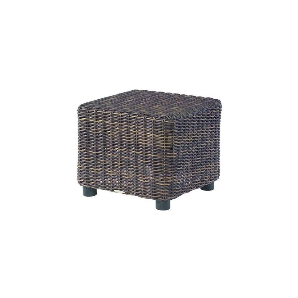White Craft S561201 Sonoma Square End Table in Trax Mink S561201