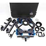 Dana Dolly DanaDolly Hi Hat Universal Rental Kit, Includes Slider, 2x Track Ends and 75/100/150mm Ball Adapter