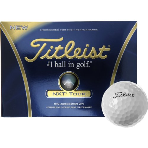 Titleist NXT Tour Golf Balls - 1 Dozen
