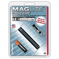 MagLite Solitaire AAA Incandescente. Linterna Verde K3A396 Blister