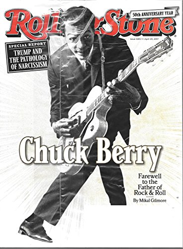 Rolling Stone Magazine (April 20, 2017) Chuck Berry Cover
