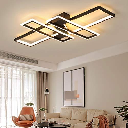 Lámpara LED de techo regulable para dormitorio salón decoración diseño moderno acrílico colores de techo lámpara para…