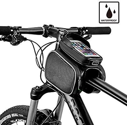 OVEA Ciclismo Bici Top Tube Bolsa Sillin Bicicleta Impermeable MTB ...