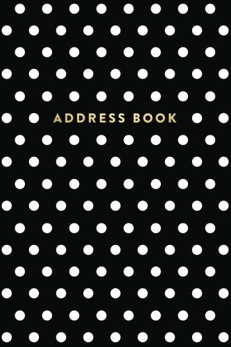 Address Book: Black and White Polka Dots, 6