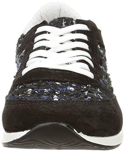 da Elle Nero Sneakers Noir Liline Donna SxwAR1q