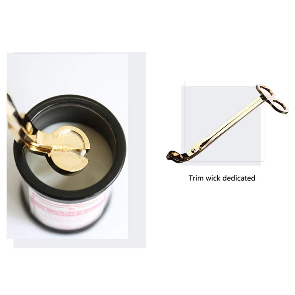 /él/égant et la durabilit/é et lacier Inoxydable m/èche Trimmer 3 en 1 Accessoires /à Bougies Bell Snuffer OSAYES Bougie Snuffer Wick ourse