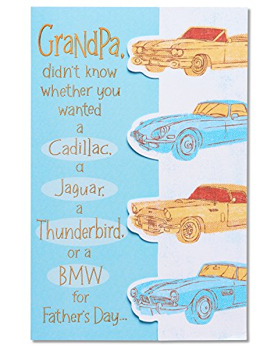 American Greetings Lincoln Father's Day Card for Grandpa with Foil (5873424)