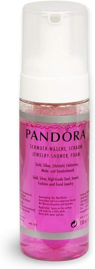 Oro Pandora y espuma Limpiadora de plata 150 ml spray limpiador de la joyería