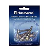 6 blower - Husqvarna Shear Bolts & Nuts Kit for 2 Stage Snow Blowers (6 Pack) 580790401