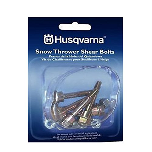 Two Stage Snowblower (Husqvarna Shear Bolts & Nuts Kit for 2 Stage Snow Blowers (6 Pack) 580790401)