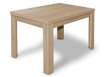 Chêne Table Manger Roms 120176 À X Rallonge Cm 80 SonomaAmazon HED9W2I
