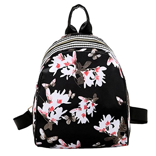 HUOPR5Q Orange-Flowers Drawstring Backpack Sport Gym Sack Shoulder Bulk Bag Dance Bag for School Travel