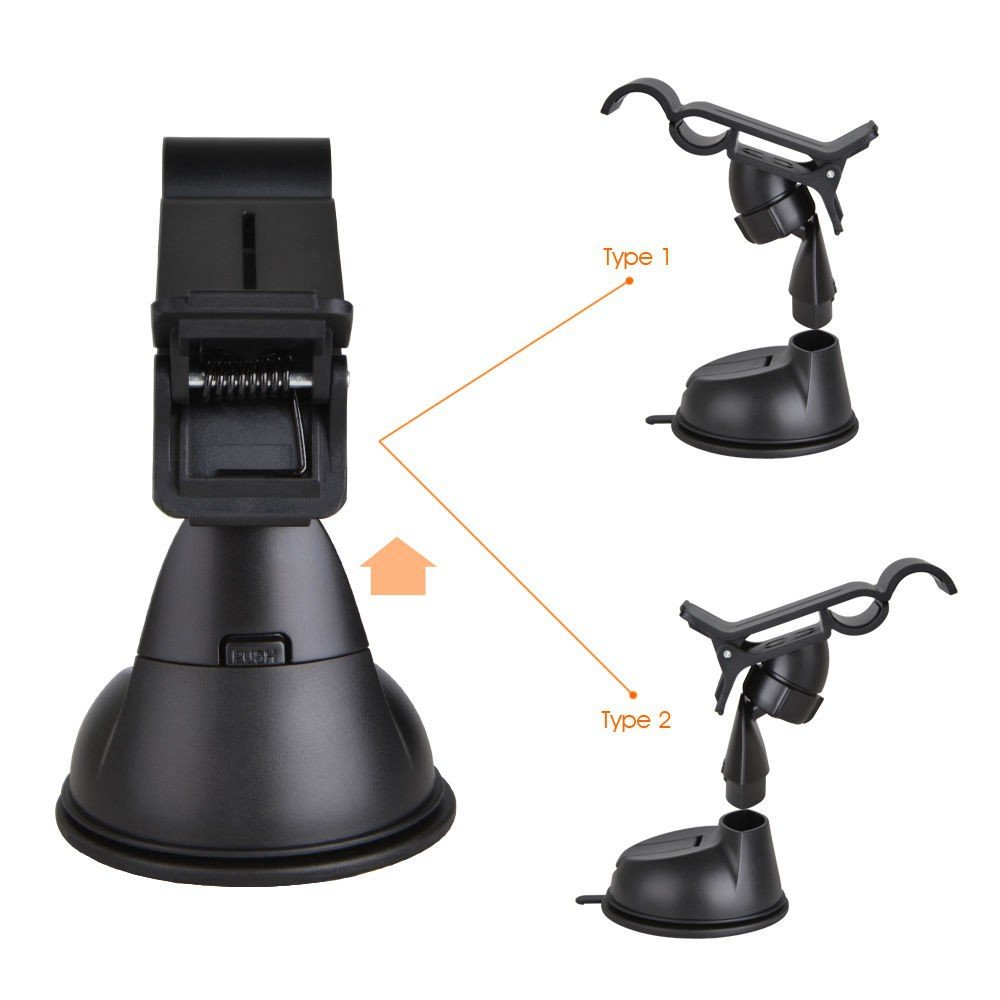 Amazon.com: 360 Degree Rotating Universal Car Mount Bracket Holder for Samsung Galaxy S5 I9600 and Others , Hands Free In Car Accessories Adjustable GPS ...