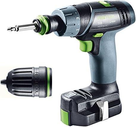 Festool 564513 Cordless Drill TXS LI2.6 PLUS
