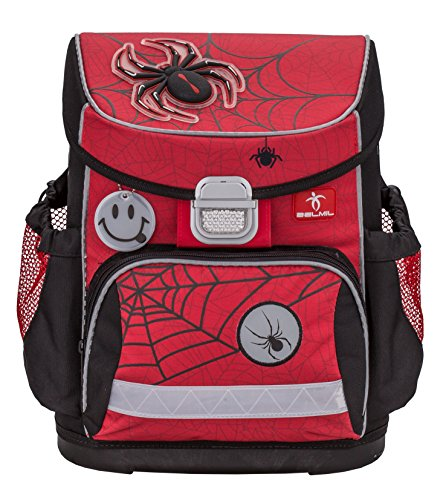 Black Black and Red Red Spiders Bag Red and Spiders Belmil WOcv6
